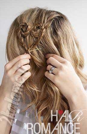 آموزش  تصویری مدل جدید بافت موی سر مخصوص ولنتاین و روزهای عاشقانه همراه با عکس و توضیحات کامل