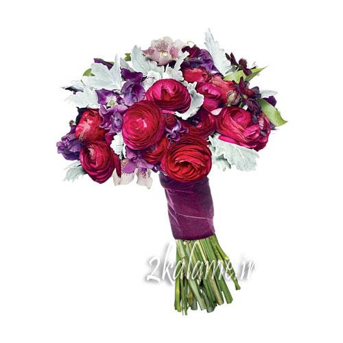 عکس دسته گل های رنگارنگ برای مراسم و مجالس خواستگاری عقد عروسی بله برون و روز مادر