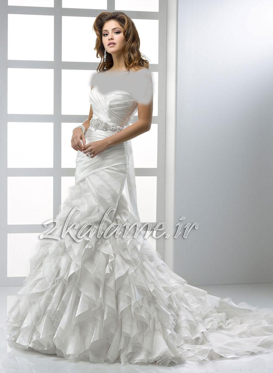 عکس-مدل-جدید-لباس-عروسی-زیبا-و-شیک
