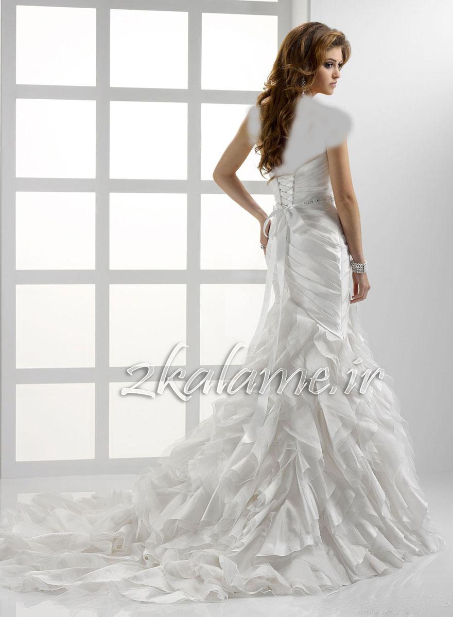 عکس-مدل-جدید-لباس-عروسی-زیبا