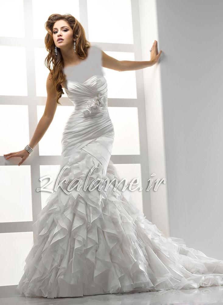 عکس-مدل-جدید-لباس-عروس-زیبا