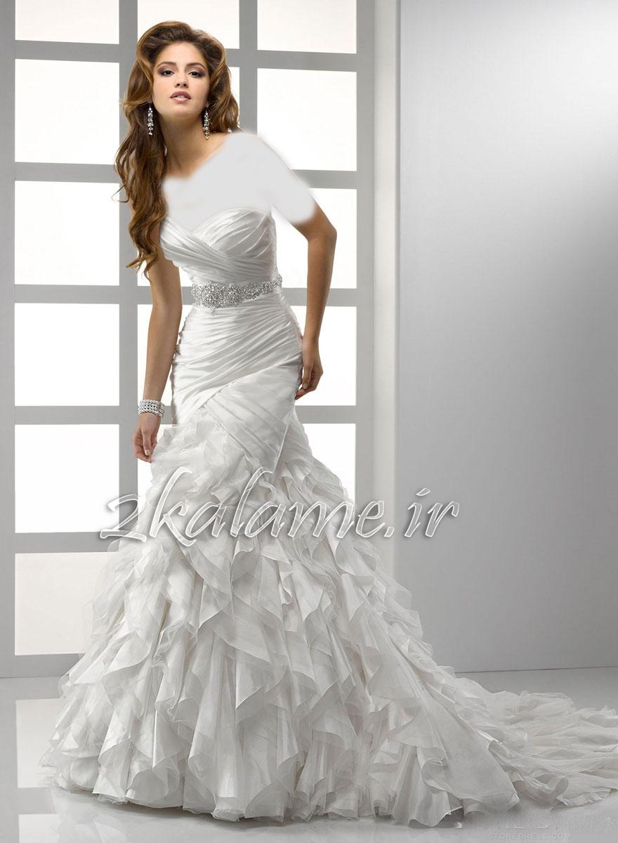 عکس-مدل-لباس-عروسی-زیبا-و-شیک